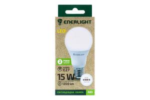 Лампа светодиодная 15W E27 4100K Enerlight 1шт
