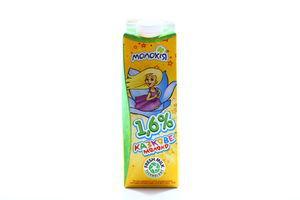 Молоко 1.6% пастеризованное Казкове Молокія п/п 930г