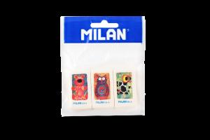 Набір з 3-х гумок Milan 436А блістер