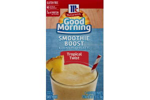 McCormick Good Morning Smoothie Boost Tropical Twist - 4 CT