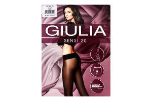 Колготки жіночі Giulia Sensi 20den 4-L nero