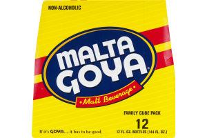 Malta Goya Malt Beverage - 12 CT
