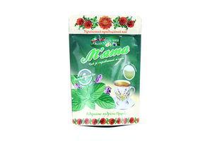 Чай травяной Мята Поліський чай м/у 25х1.5г