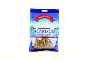 Анчоусы сушеные соленые тушки б/г ср/с Морские м/у 36г