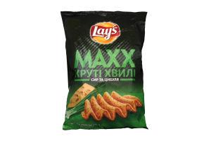 Чипсы картофельные со вкусом сыра и лука Max Lays м/у 120г