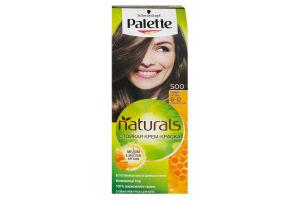 Крем-фарба для волосся Фітолінія Темно-русявий №500 Palette