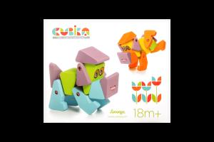 Іграшка дерев'яна Собака Акробат LA-1 CUBIKA