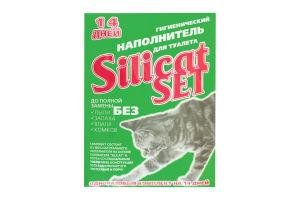 Наполнитель для кошачьего туалета Silicat Set