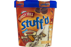 "Turkey Hill Stuff'd Denali ""Original"" Moose Tracks Frozen Dairy Dessert"