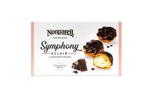 Пирожное Эклеры с заварным кремом Symphony Nonpareil к/у 0.3кг