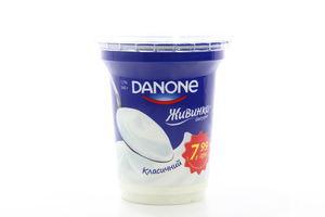 Йогурт Danone Живинка классический 1,7% п/б 340г