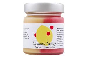 Крем-мед з малиною і лимоном Мед-шмед с/б 230г
