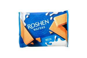Вафлі Roshen Wafers Milk 72г х6