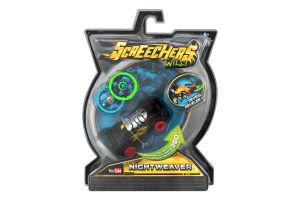 Машинка-трансформер для детей от 6лет №EU683114 Nightweaver Screechers Wild 1шт