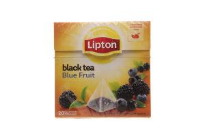 Чай черный Blue Fruit Lipton к/у 20х1.8г