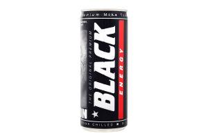 Напій енергетичний Mike Tyson Black Energy з/б 250мл