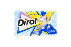 Резинка жевательная без сахара Свежесть черники и цитрусовых X-Fresh Dirol к/у 18г