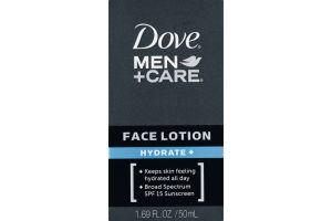 Dove Men + Care Face Lotion Hydrate