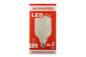 Лампа світлодіодна Economka LED ZP 40W E27 4200K 1шт