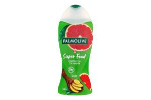 Гель-крем для душу Грейпфрут та сік імбиру Super Food Palmolive 250мл