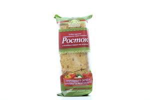 Хлібці УкрЕкоХліб Росток з паприкою та зеленню 120г х45