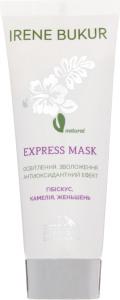 Экспресс-маска с гибискусом, камелией и женьшенем Irene Bukur 75г