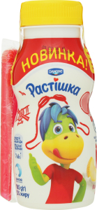 Йогурт Danone Растішка кавун та диня п/пляшка 185г