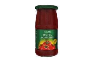 Паста томатная 25% Novus с/б 480г
