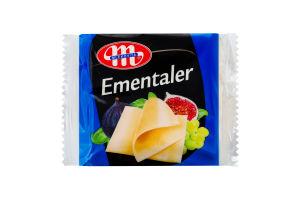 Сир плавлений Mlekovita Ементалер 22% шматочки 130г х12