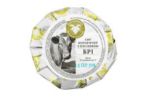 Сыр 27.3% коровий с плесенью Бри Еко Карпати кг