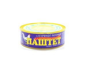 Паштет из куриной печени со сливочным маслом ОПК ж/б 240г