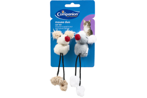 Ahold Companion Cat Toy Mouse Duo - 2 CT