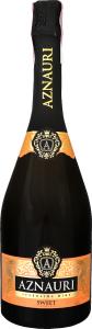 Вино ігристе Aznauri біле, солодке 0,75л., 10-13,5%