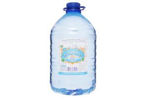 Вода питьевая столовая негазированная Криниця п/бут 5л