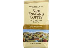 New England Coffee Hazelnut Crème Medium Roast Freshly Ground