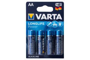 Батарейка AA 1.5V LR6 №4906 Varta 4шт