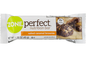 ZonePerfect Nutrition Bar Salted Caramel Brownie