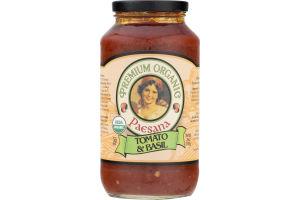 Paesana Premium Organic Pasta Sauce Tomato & Basil