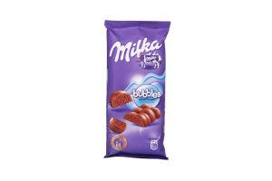 Шоколад Bubbles пористий молочний Kraft Milka 80г