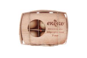 Яйца цесариные Еко-ко 6шт