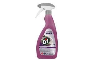 Средство чистящее и дезинфицирующее для поверхностей Professional Cif 750мл