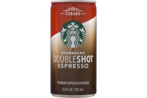Starbucks Doubleshot Espresso Cubano