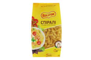 Изделия макаронные Спирали Роллтон м/у 400г