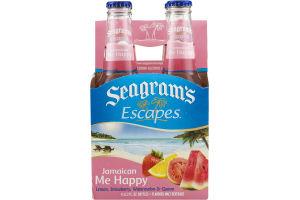Seagram's Escapes Malt Beverage Bottles Jamaican Me Happy
