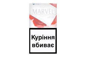 Сигареты с фильтром Super Slims Silver Marvel 20шт