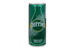 Вода слабомінералізована Perrier з/б 250мл
