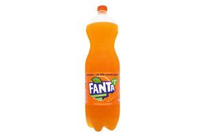 Напиток безалкогольный сильногазированный с апельсиновым соком Fanta п/бут 2л
