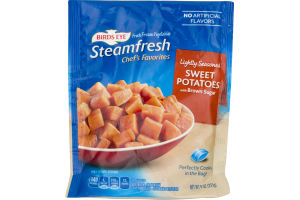Bird's Eye Steamfresh Chef's Favorites Lightly Seasoned Sweet Potatoes With Brown Sugar