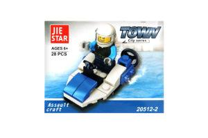 Іграшка Китай конструктор Транспорт арт.20512/1-8 х6