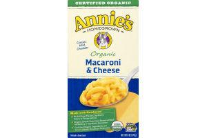 Annie's Homegrown Organic Macaroni & Cheese